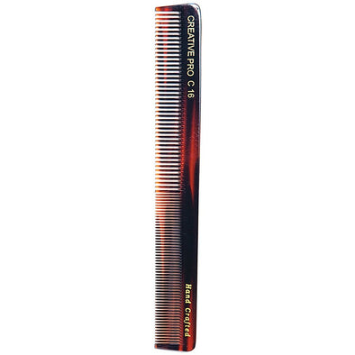 Tortoise 8 Inch Styling & Cutting Comb - Creative Professional Hair Tools