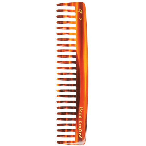C2 Tortoise Pocket Comb - Detangling & Styling - Creative Professional Hair Tools