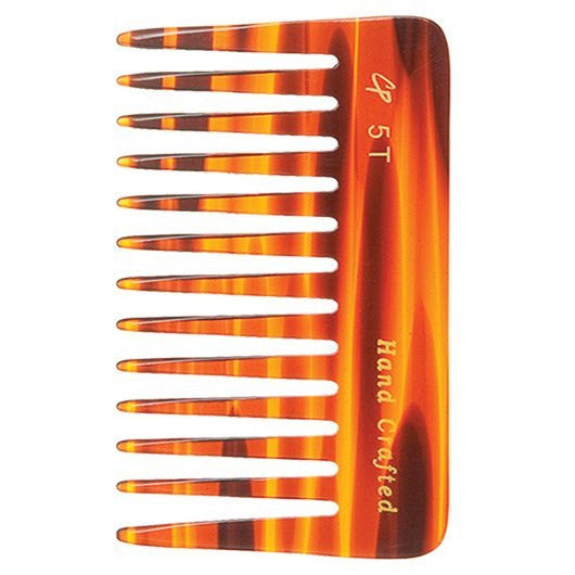 Wide Tooth 4 inch Tortoise Comb - Creative Professional Hair Tools