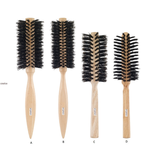 Creative beach wood  natural bristle range