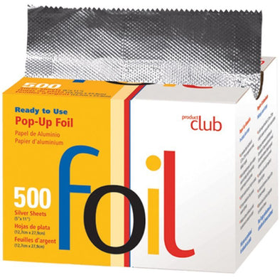 Salon Accessories - Pop-up Pre-Cut Foil (500 CT)