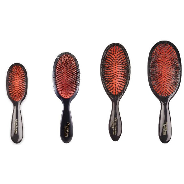 Classic Signature Paddle Natural Boar Bristle Hair Brush - Creative Professional Hair Tools