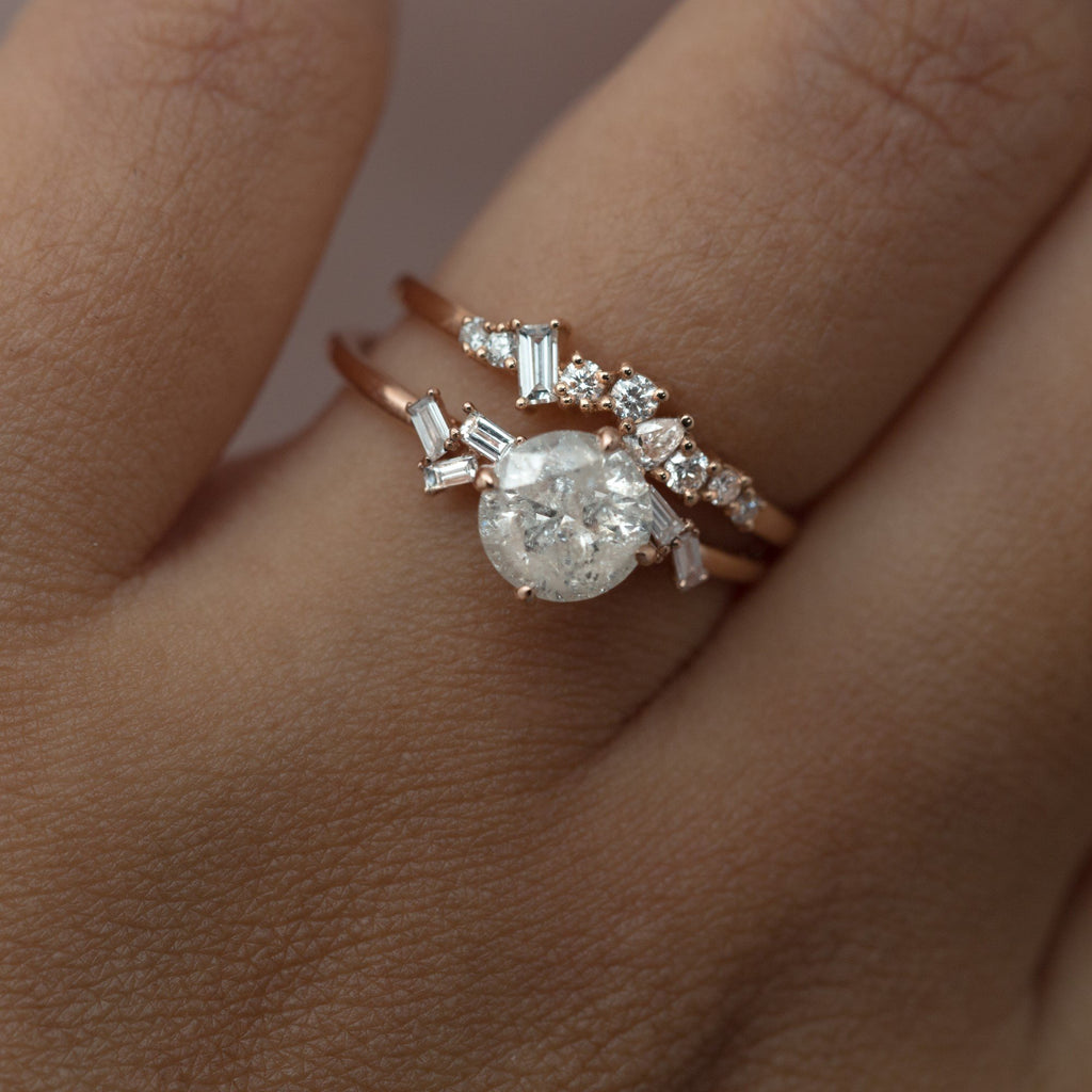 Pairing Your Engagement Ring and Wedding Band