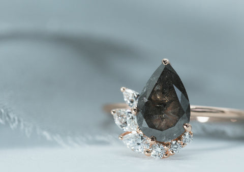 astral diamond engagement ring