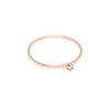 Seis Classic Diamond Ring // Rose Gold