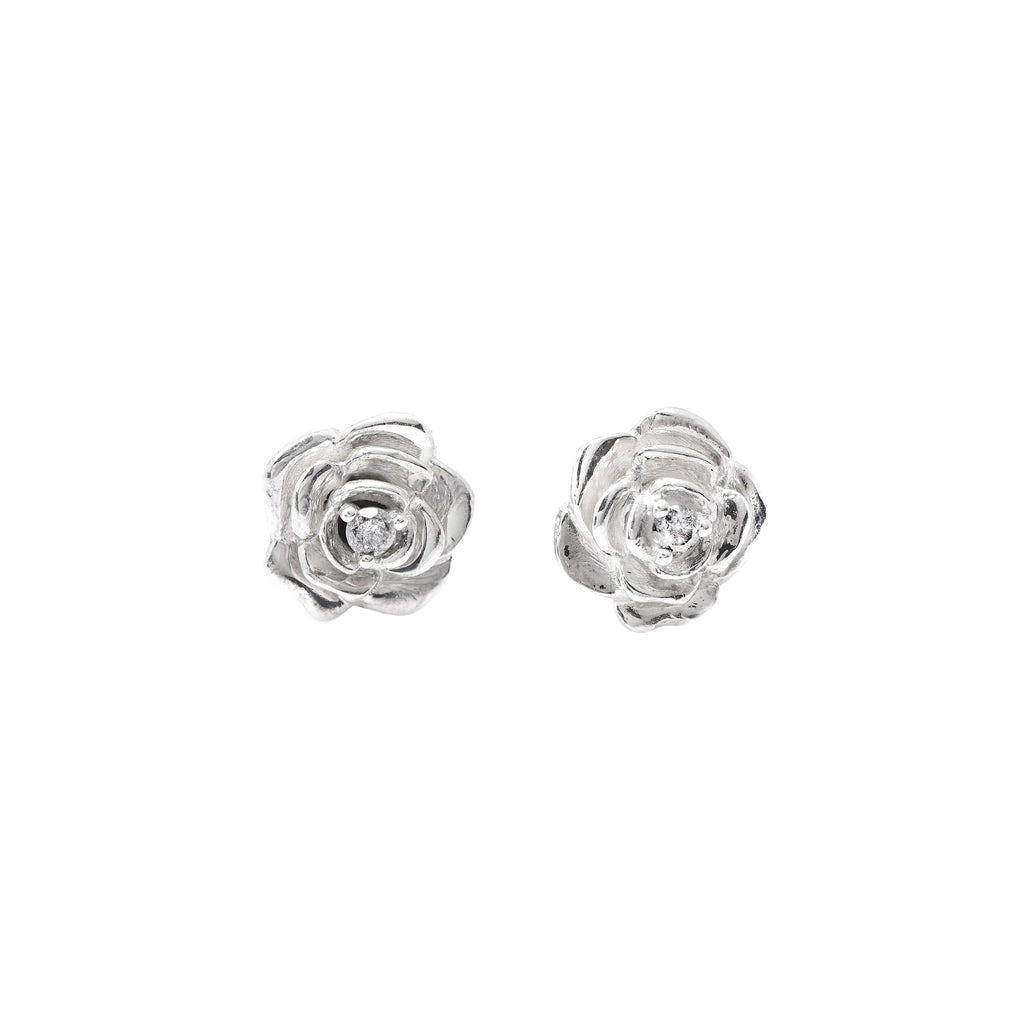 earrings v braided diamond collections diamondfoundry studs