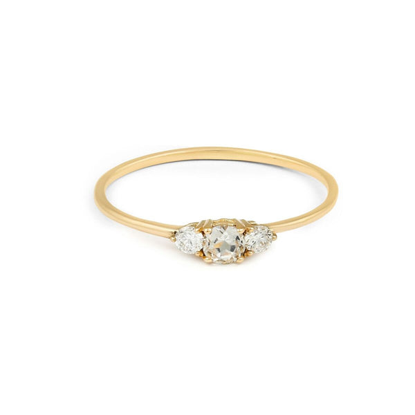 Eclipse Diamond Ring // Gold
