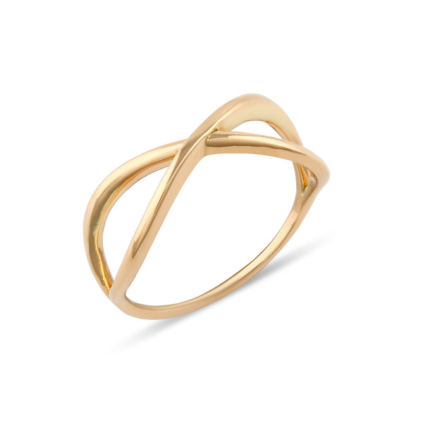 Curve Engagement Ring // Gold