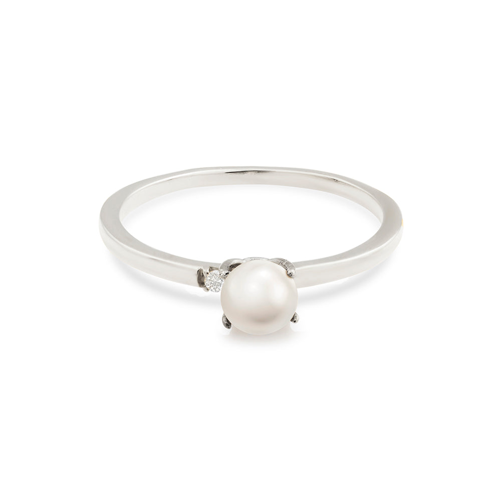 sadie rings image jewelry band products engagement stephanie gottlieb pearl fine diamond