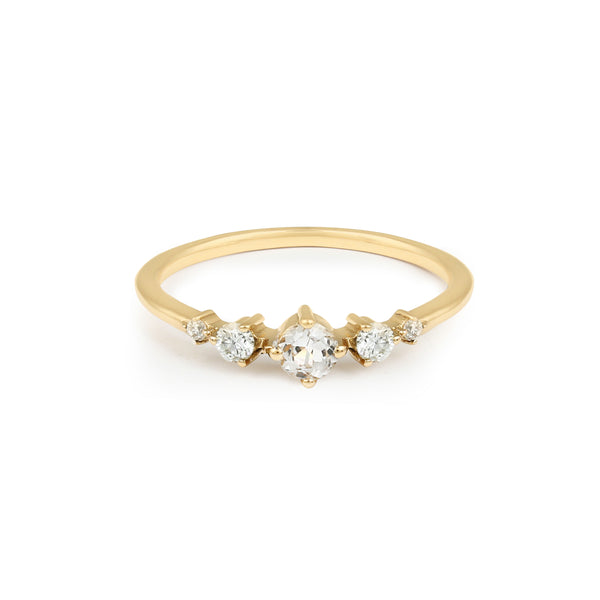 Fireworks Diamond Ring // Gold