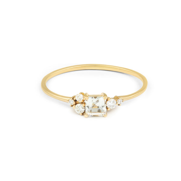 Darcy Diamond Engagement Ring // Gold