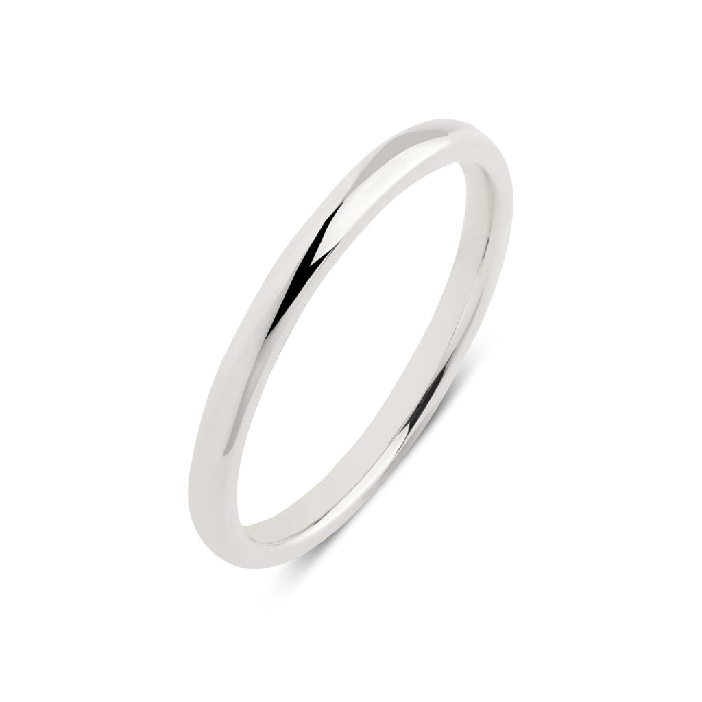 Note Band II// White Gold