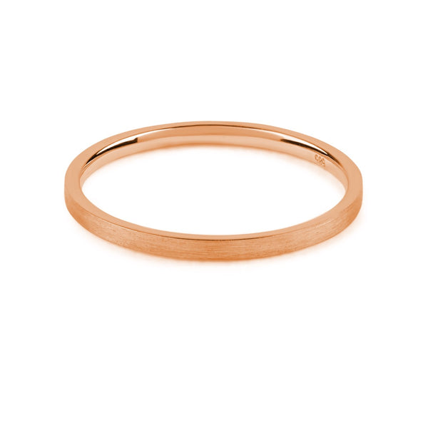 Unity Band I // Rose Gold