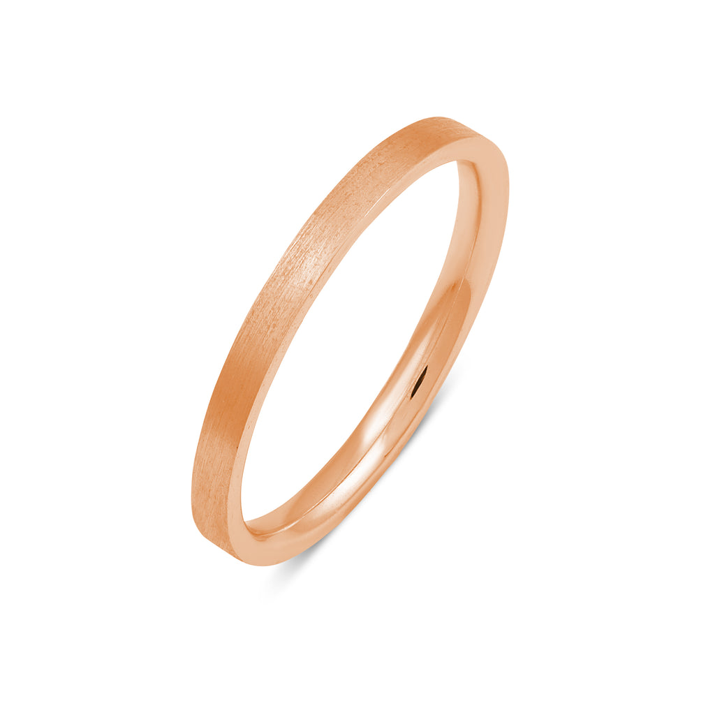 Unity Band II // Rose Gold