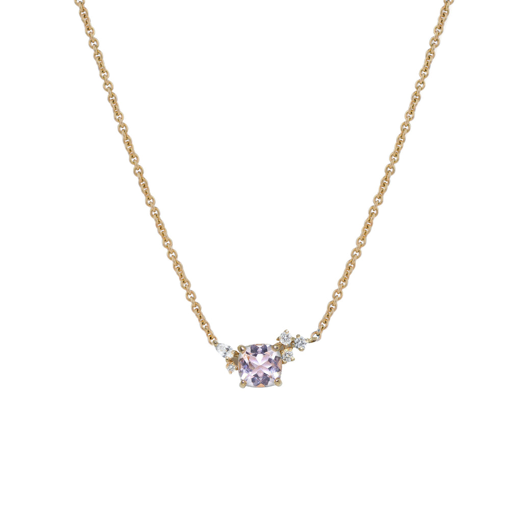 Blossom Diamond Necklace // Gold - Lucy & Mui