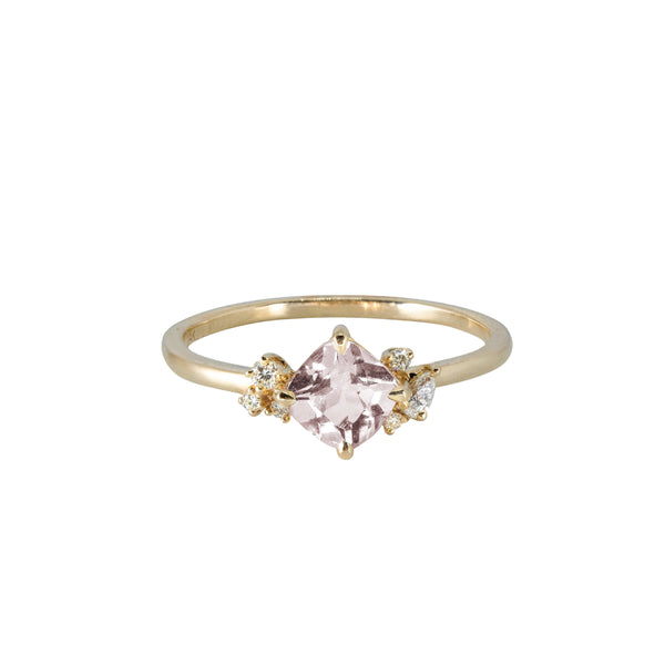 Blossom Diamond Ring // Gold - Lucy & Mui