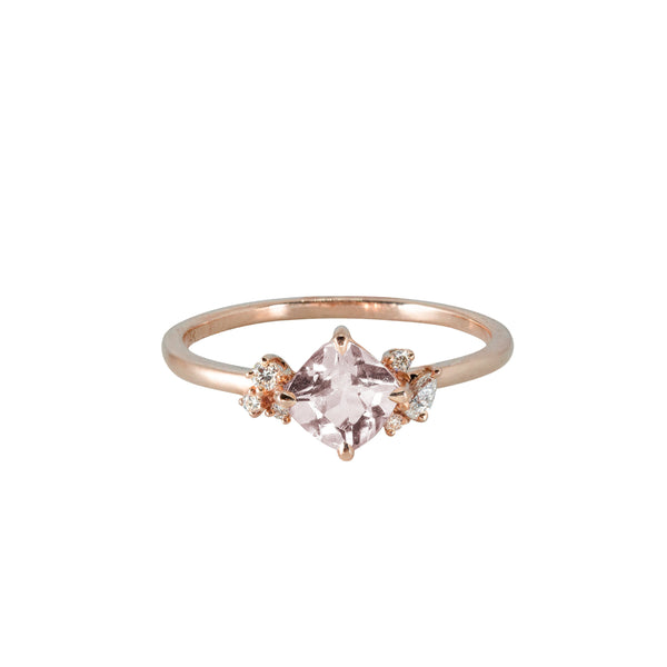 Blossom Diamond Ring // Rose Gold - Lucy & Mui
