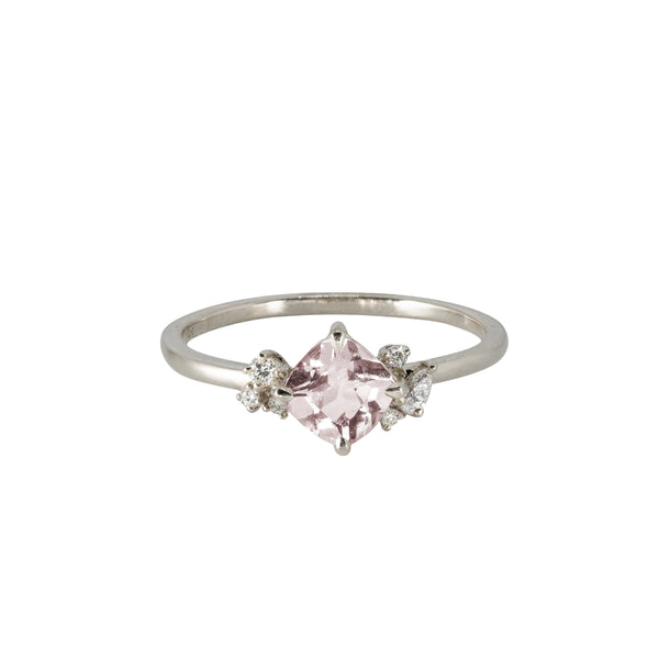 Blossom Diamond Ring // White Gold - Lucy & Mui