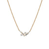 Fairy Diamond Necklace // Gold