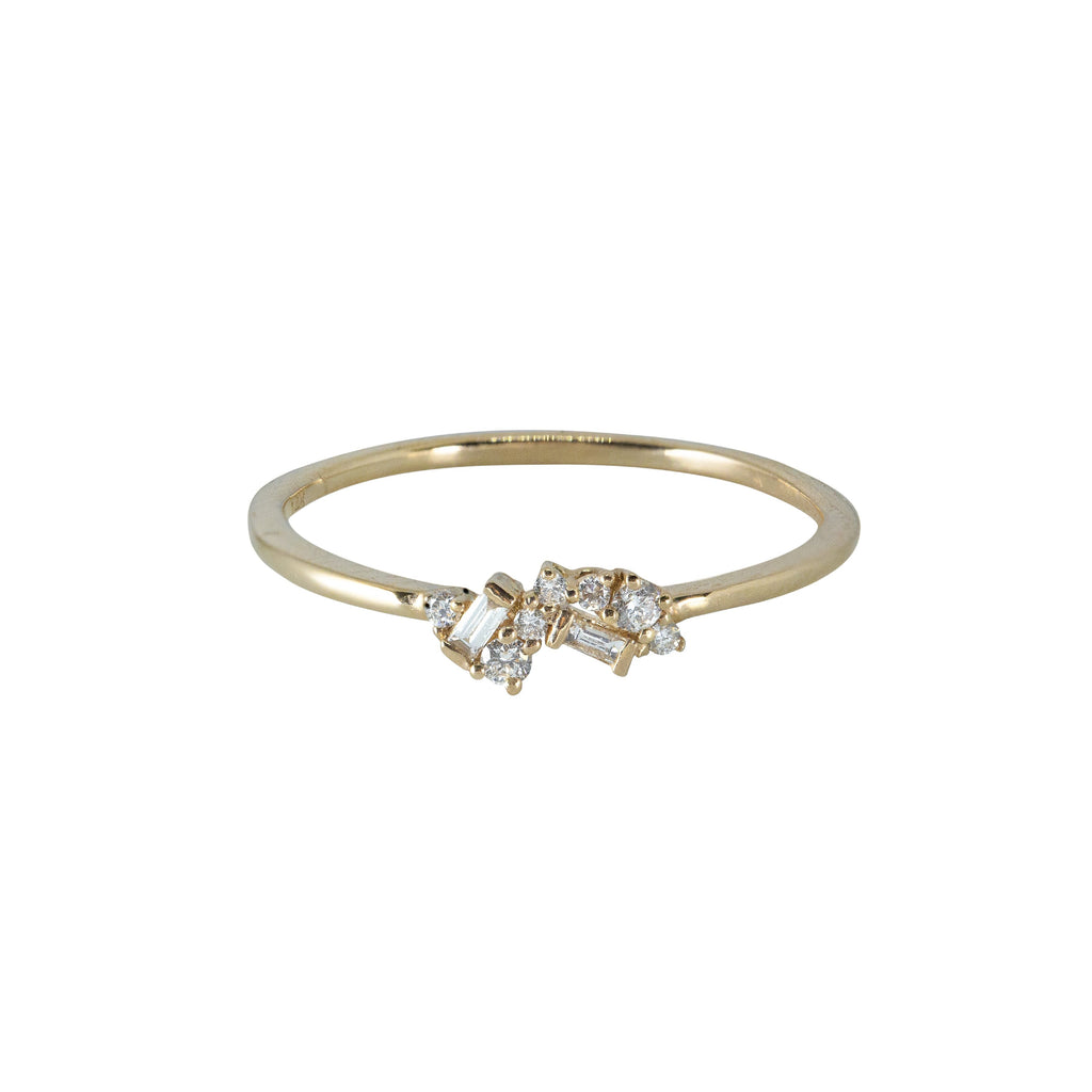 Fairy Diamond Ring // Gold - Lucy & Mui