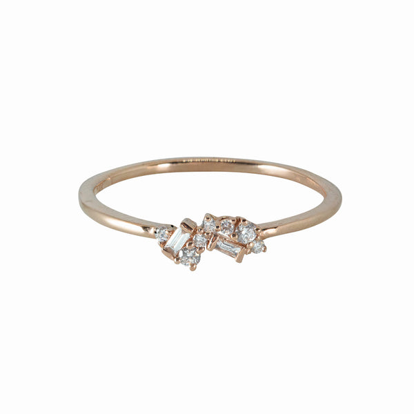 Fairy Diamond Ring // Rose Gold