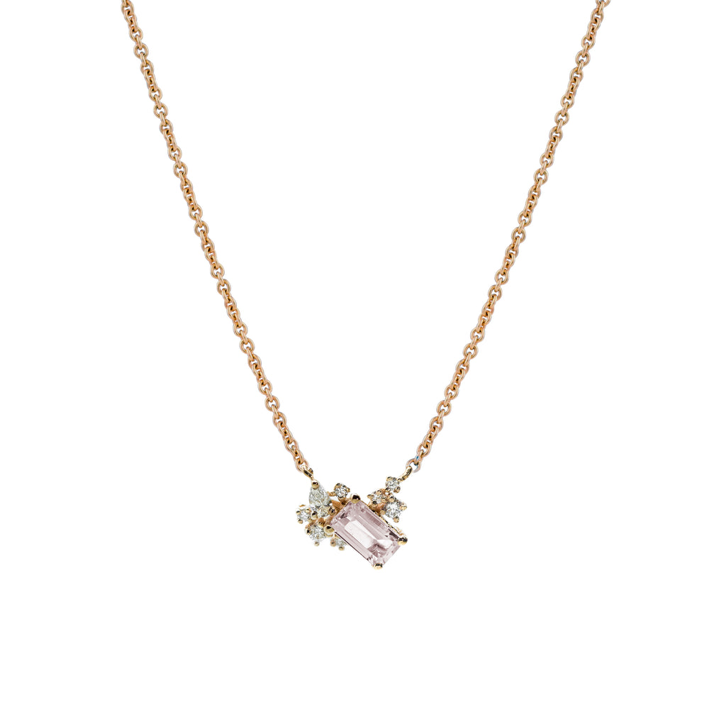 Diamond Drift Necklace // Gold