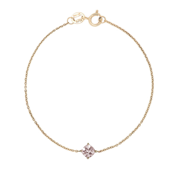 Bloom Morganite Bracelet // Gold - Lucy & Mui