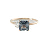 The Bound Spinel Diamond Ring // Rose Gold