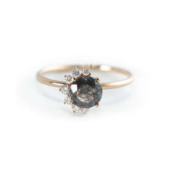 Celestial Diamond Ring // Rose Gold