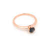 Echo Sapphire Engagement Ring // Rose Gold