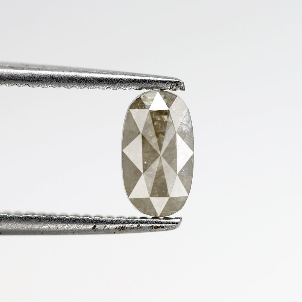 0.52 Carat | Oval-Cut Astral Diamond (Salt & Pepper)