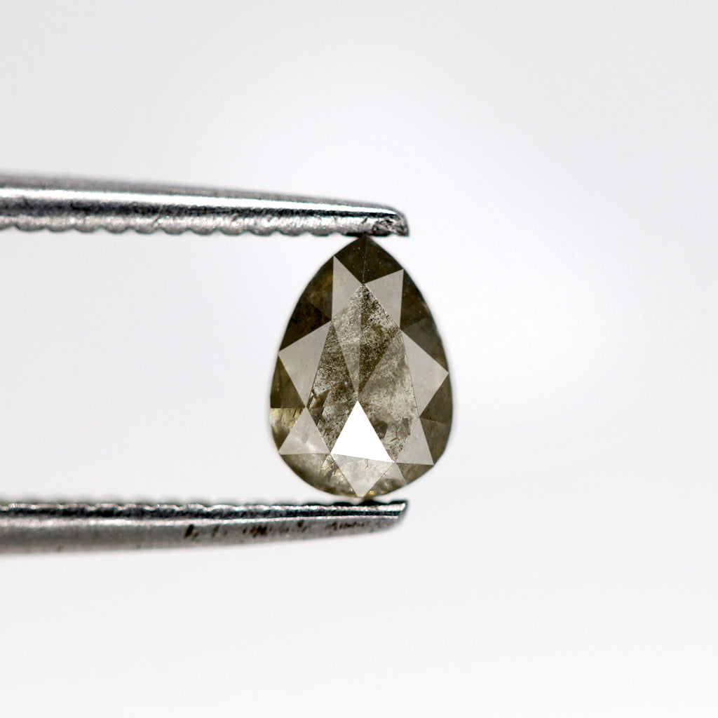 0.49 Carat | Pear-Cut Astral Diamond (Salt & Pepper)