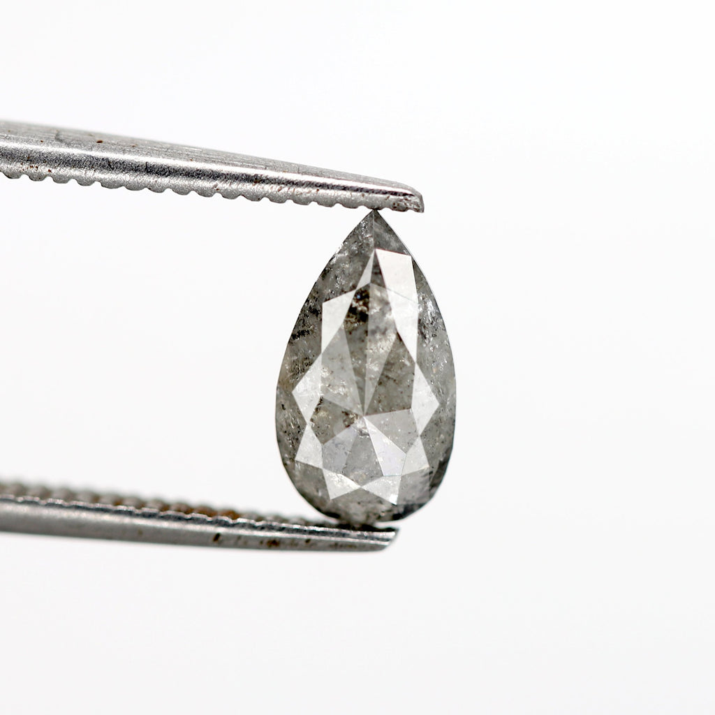 0.60 Carat | Pear-Cut Astral Diamond (Salt & Pepper)