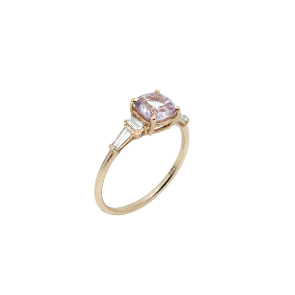 Rosie Sapphire Engagement Ring // Rose Gold