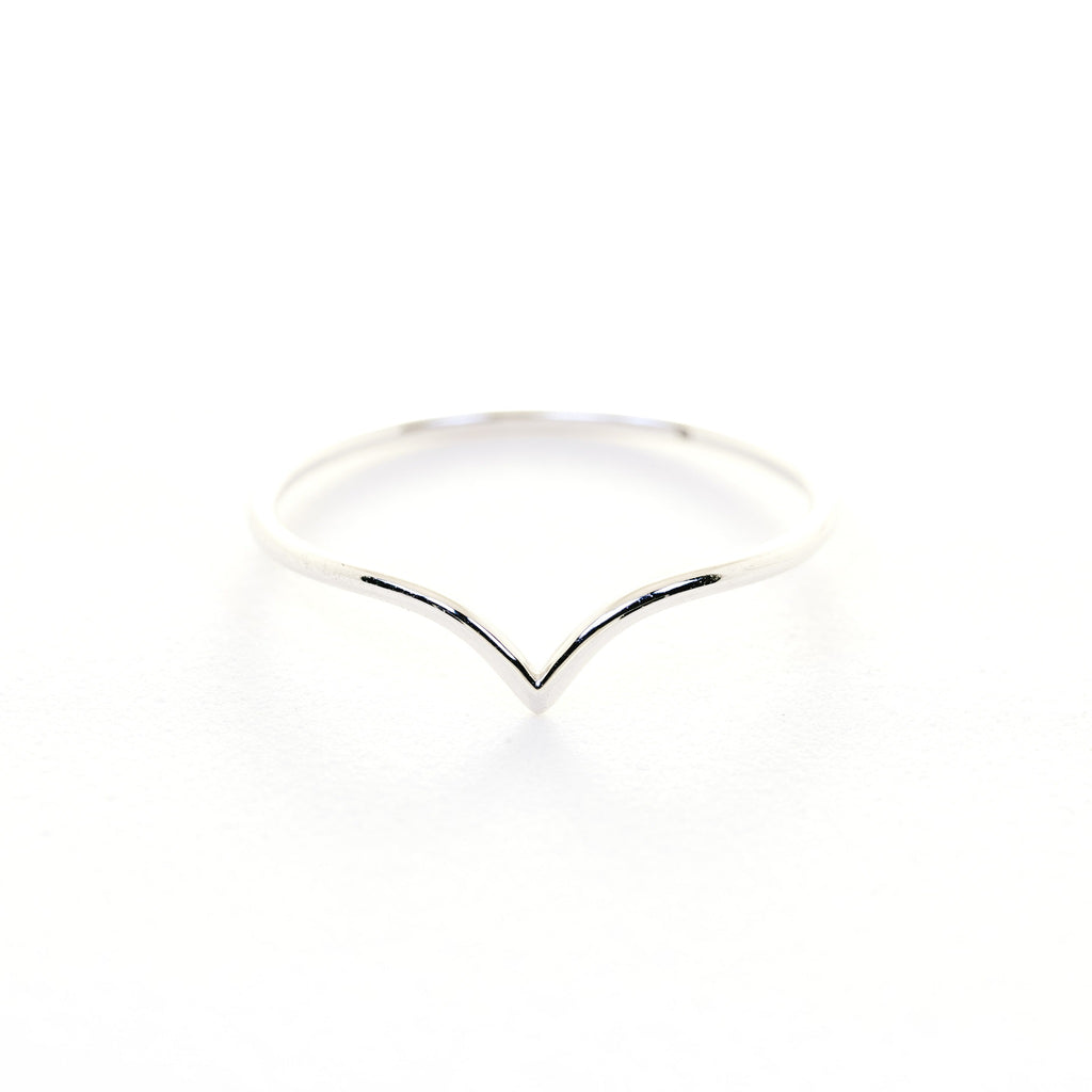 The Vine Ring // White Gold