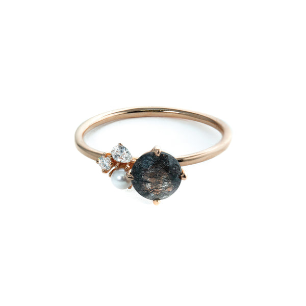 Ilona Diamond Ring // Rose Gold