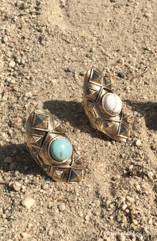 Boho Stud Ring at Holliday June
