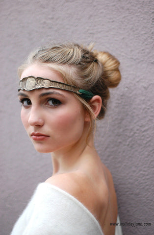 'Evelyn' Headband by Wildfur