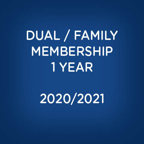 Dual / Family Membership - 2020/2021 Season