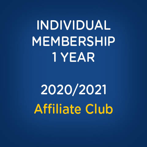Individual Membership - Affiliate Club 2020/2021 Season