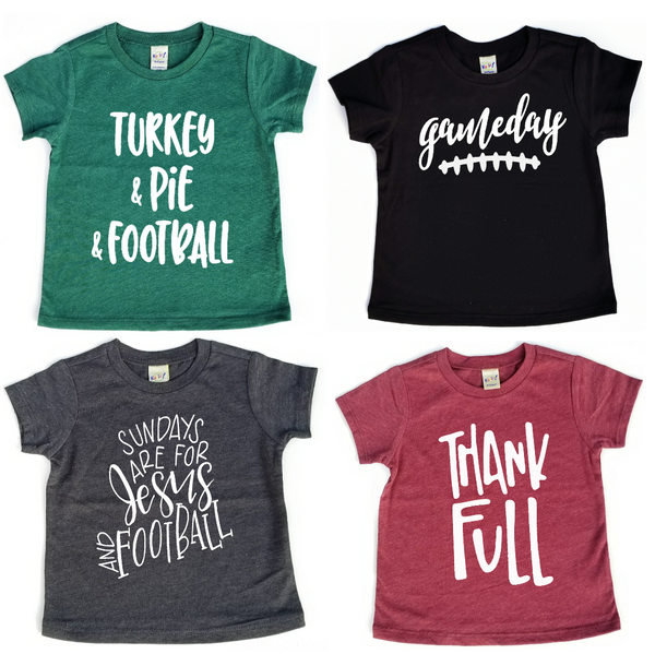"""Gameday"" Baby - Toddler Tee (FALL COLORS)"