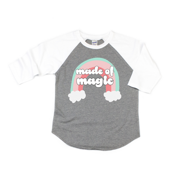 """Made Of Magic"" & ""You Are Magic Baby / Toddler / Youth Raglan"