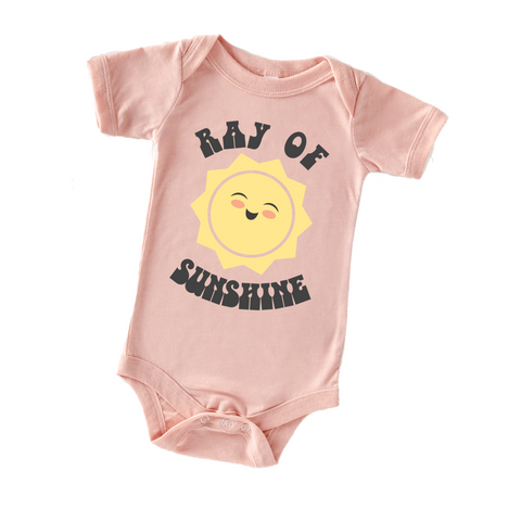 """Ray of Sunshine"" Baby One Piece"