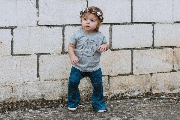 """Love Grows Wild"" Baby - Toddler Tee"