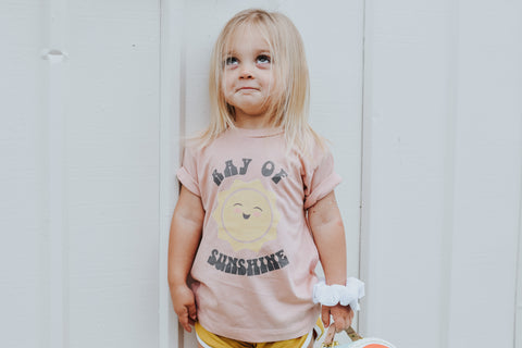 """Ray of Sunshine"" Baby - Toddler - Youth - T-Shirt"