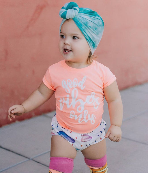 """Good Vibes Only"" Baby - Toddler Tee"