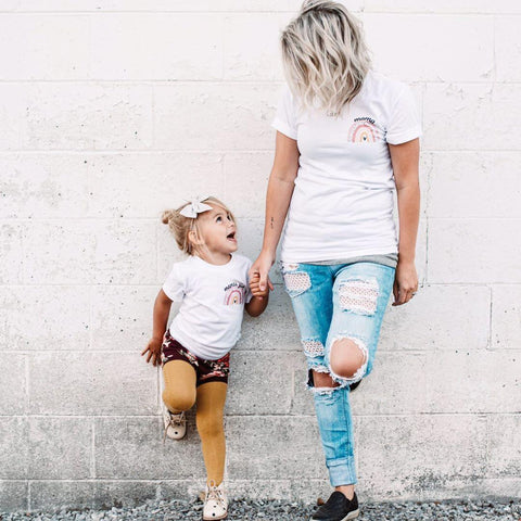 """Mama"" Bella Canvas Unisex Crew Neck Tee - Women's"