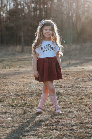 """Wildflower"" Baby - Toddler Tee"