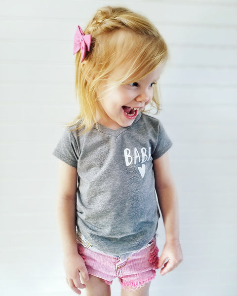 """BABE"" Baby - Toddler Tee"