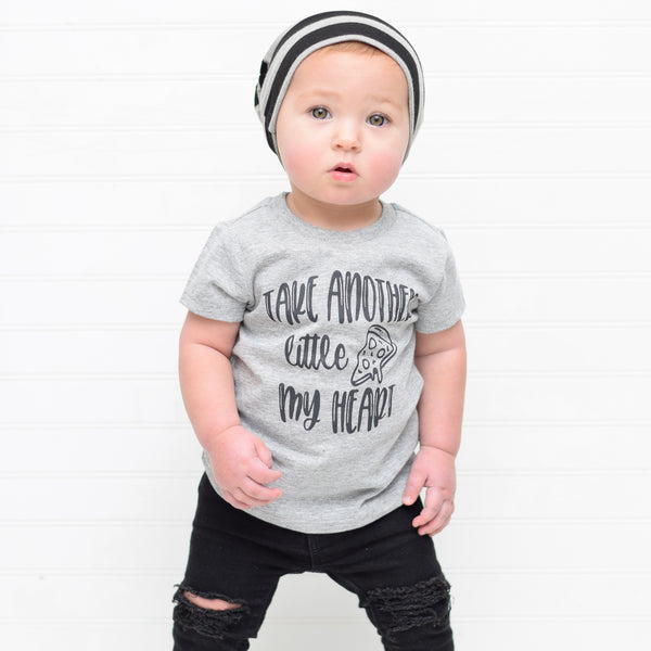 Take Another Little Pizza My Heart Baby - Toddler Tee